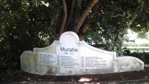 Muratie wine estates