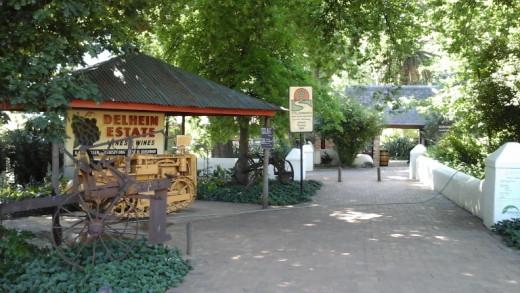 Delheim Wine Estate on Route 360 @ http://www.stellenbosch.travel