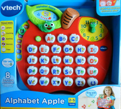 Affordable Electronic Alphabet Learning Game