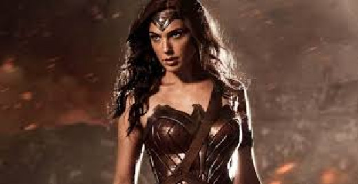 I hate the choice of actress for the new WW, but I also have issues with just about everything Warner/DC is trying to do with their superhero line ups. In this picture she does look more like how WW should look, I think this line up will fail.