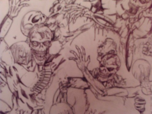 More undead skeletons and zombies drawn to decay