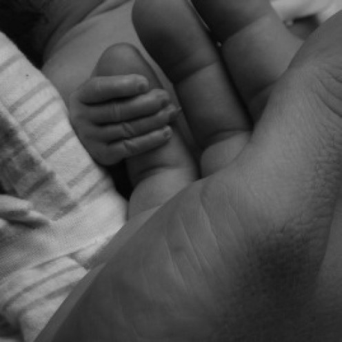 Hold your Daddy's Hand and spend some time with Him.