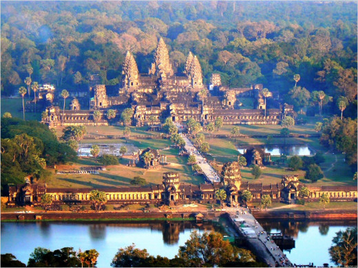Angkor Wat: The largest temple comples in the world