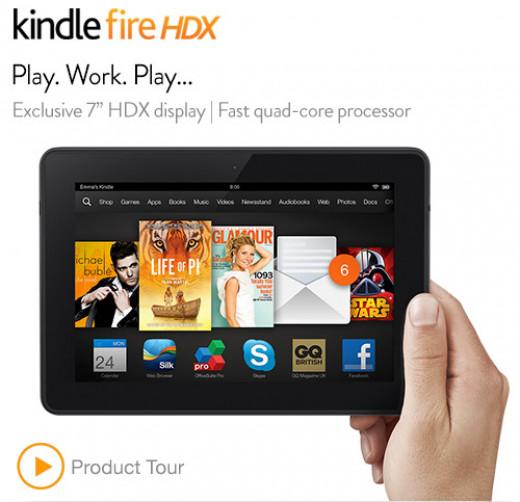 Amazon Kindle HDX 7