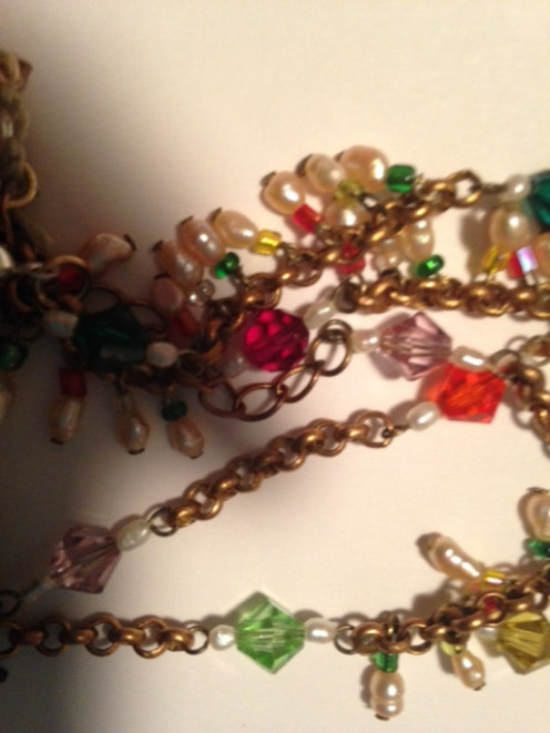 Create all your eye pins at one time followed by the headpin dangles then attach the chain in sections