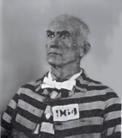 The Baron of Arizona in prison in 1895. He served time in prison for his intricate fraud.