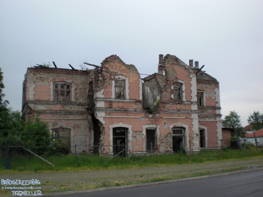 Some houses in Vukovar haven't been renovated to this day.