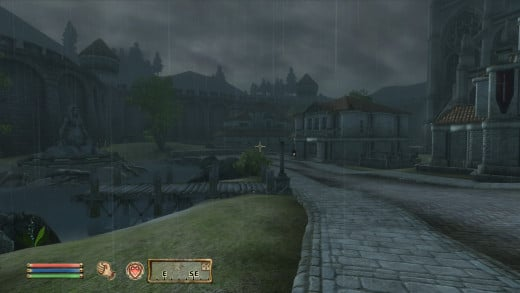 Cities in Cyrodiil are not horrid, but they don't feel like they've been lived in either.