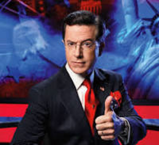 Stephen Colbert, David Letterman's replacement