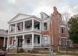 Maysfield Kentucky is home to the house known as Phillips Folly. It is also said to be haunted by the many slaves that once lived there.