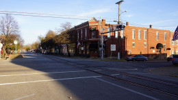 Here we have a photo of downtown La Grange Kentucky.