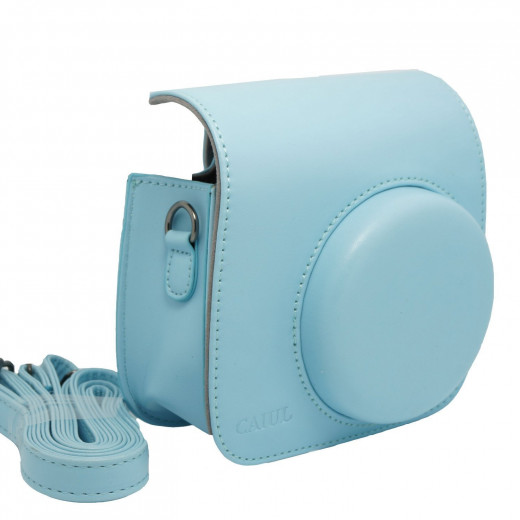 Instax Minin 8 Blue Camera Case with Strap without Camera