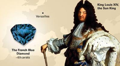 Louis XIV of France and The French Blue Diamond
