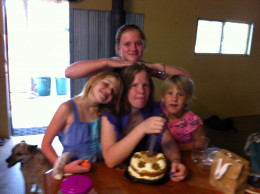 Four of our grand-daughters