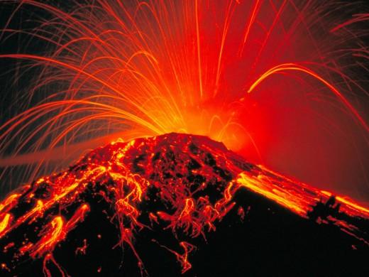 Arenal Volcano in Costa Rica -- Last full-blown eruption in 2010