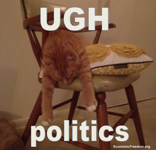 Feeling tired of politics?