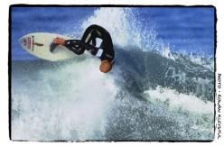 Kiwi 'Goofy Footer' Tony Schafer