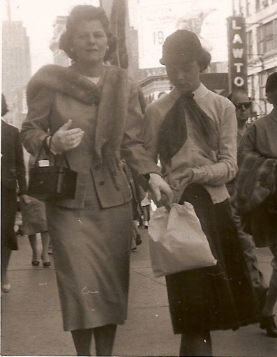 Billie's Mom and Billie circa 1958