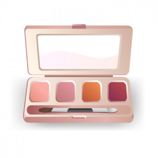 Fashion usually dictates eye makeup colors.
