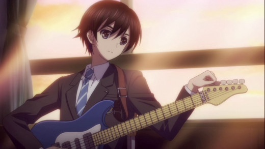 Haruki's amateur guitar skills prove to be a signifcant problem over the course of White Album 2.