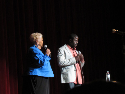 "Parris and Rock, served as hosts for Now That's Entertainment's show, ""A Time For Laughter,"" with Sinbad, The Intruders and Sheila Coley."