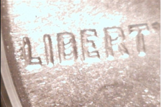 Close up of 1995 DDO (Double Die Obverse) from my collection.