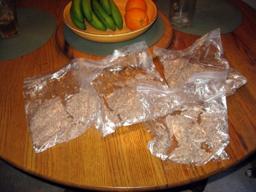 Bags of ground turkey make for an easy protein addition to your casseroles, sandwiches and other recipes.