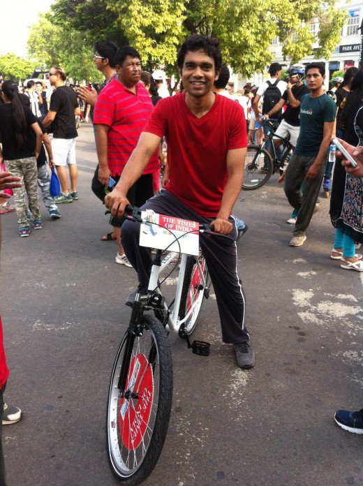 Cycle Rally For Peace