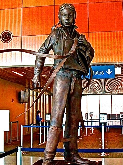 Hero Statue Honors Forgotten Tuskegee Airman Joseph Gomer