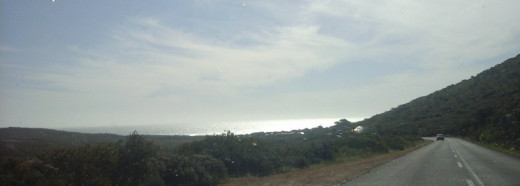 From Cape Point to Scarborough (sea and sky merged)