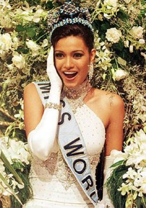 Diana Hayden at 1997 Miss World