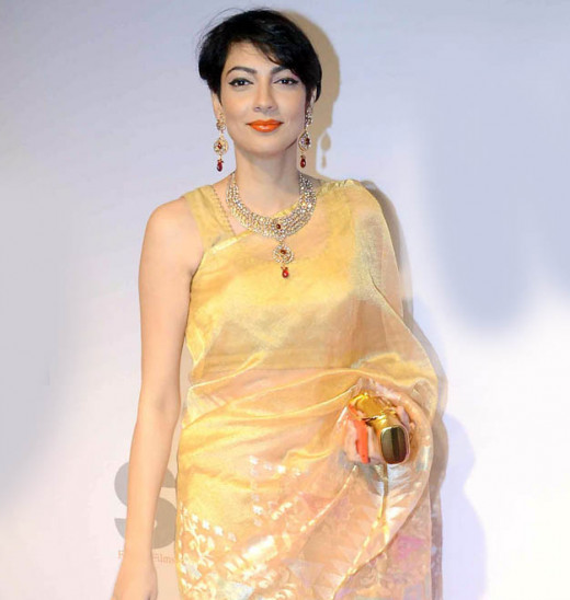 35 year old Yukta Mookhey at stree shakti women awards-2014