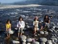 A family picnic at Miao, Arunachal Pradesh, India
