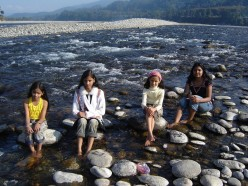 A family picnic at Miao, Arunachal Pradesh, India