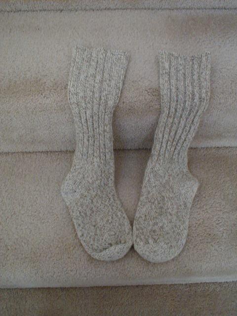Warm socks feel like home