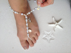 Barefoot Jewelry| Barefoot Sandals | The Perfect Beach Jewelry