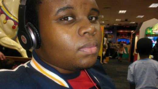 Michael Brown Age 18