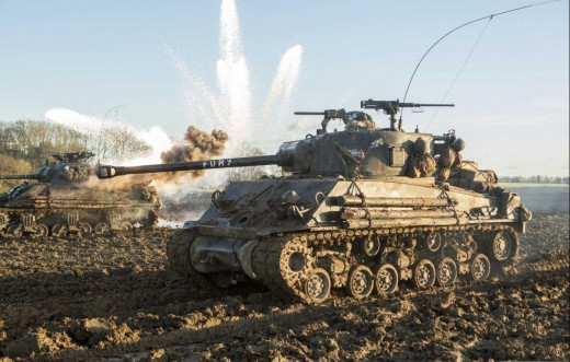 Fury features fantastic infantry and tank vs tank battles as well as close combat fighting.