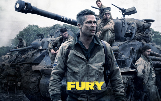 Each actor in Fury gives an outstanding performance