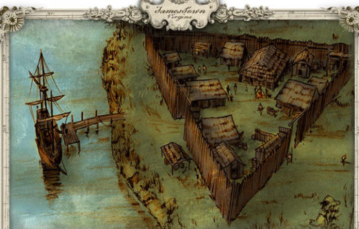 Jamestown 1607-8
