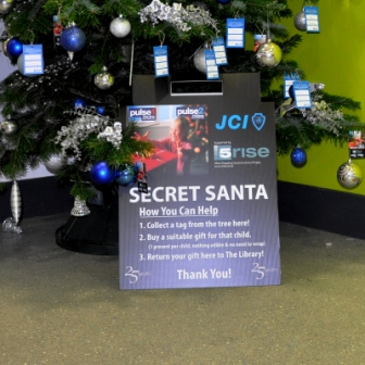 our local secret Santa collection for