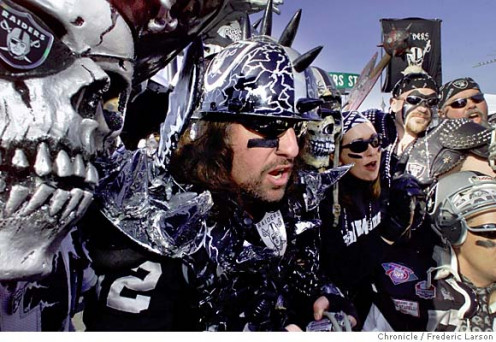 Raider fans are some of the most outrageous boosters in sports. To them it's a way of life!