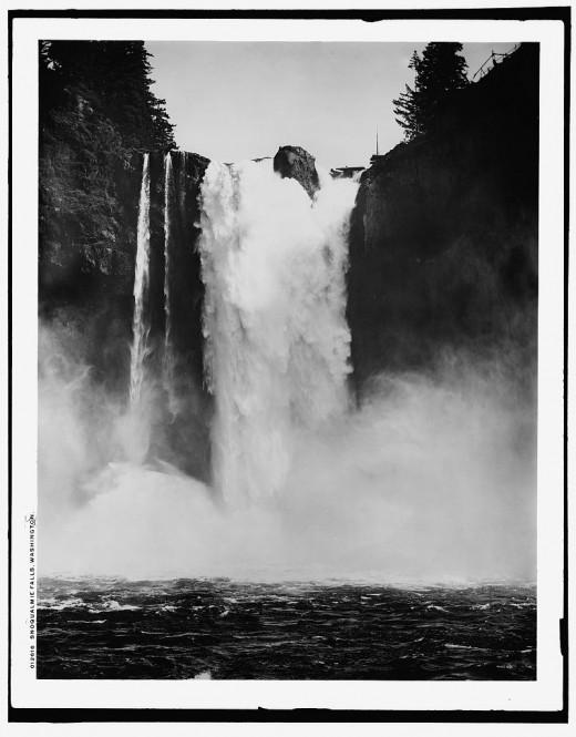 Snoqualmie Falls, WA 1909