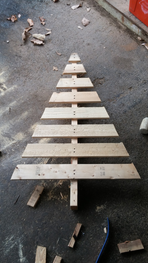Main Christmas Tree Cutout.