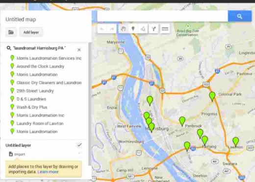 """Using Google """"My Maps"""" is a great resource to identify your captive audience locations"""
