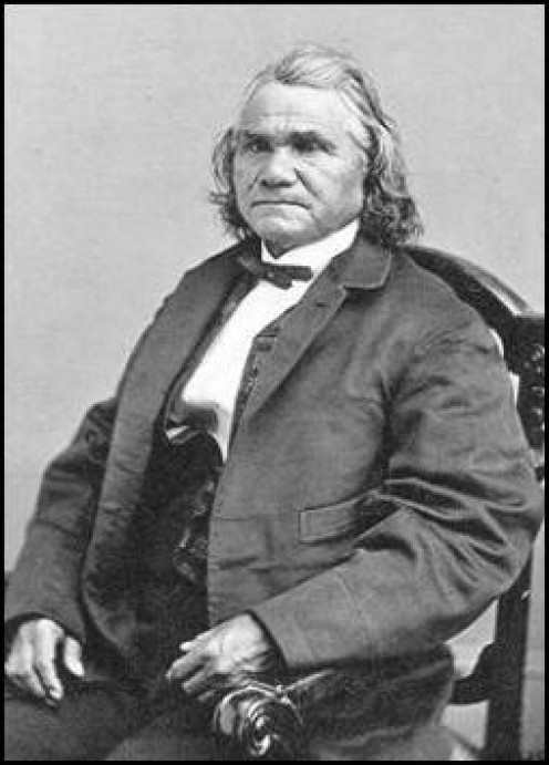 General Stand Watie, Cherokee Nation.