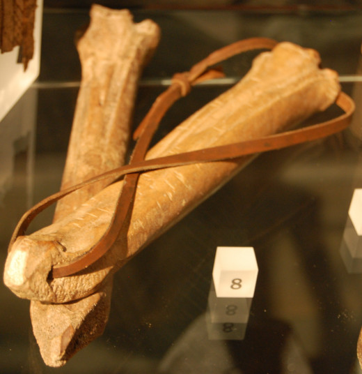 Bone Skates similar to what the Viking's would have used.