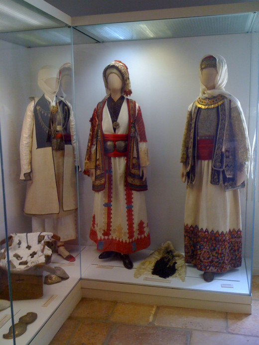 Traditional 19th Century Greek clothing
