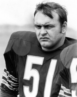 The fabled No. 51, Dick Butkus, Chicago Bears