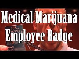 Medical Marijuana Employee Badge
